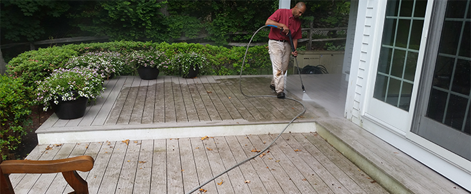Bedford deck cleaning, mold, mildew removal  power washing