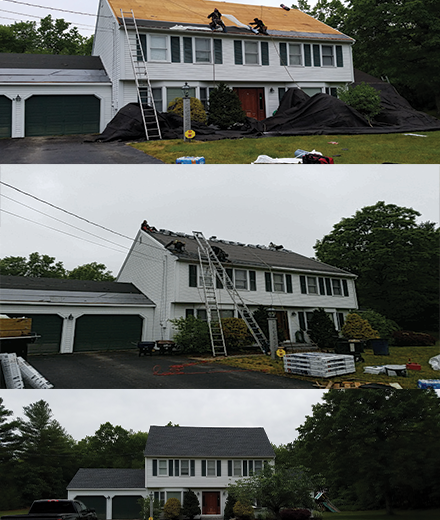 Hooksett roofing contractors serving MA and NH