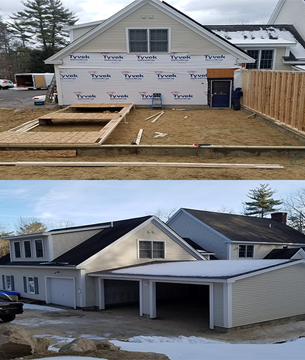 Hooksett New construction, building and remodeling services in MA & NH