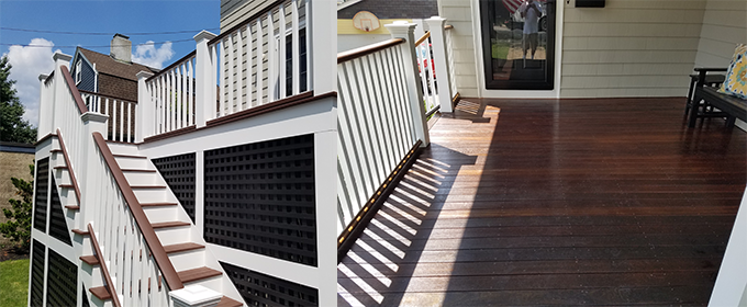 Bedford Deck repairs, building and restoration in MA & NH