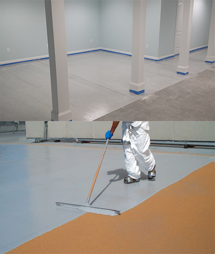 Hooksett concrete epoxy floor painting and resin coatings